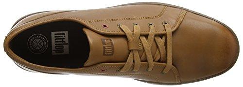 Tumbled Chiaro Sneaker light Fitflop Tan Uomo Christophe 592 Marrone RqpwwxfUOg