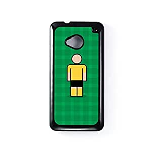 Newport Black Hard Plastic Case for HTC? One M7 by Blunt Football + FREE Crystal Clear Screen Protector
