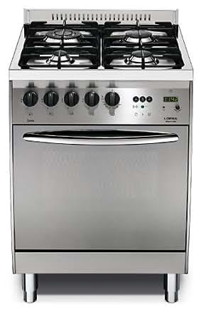 Lofra c66gv c cocina cocina independiente acero - Fogones a gas ...