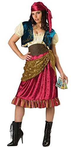 Gypsy Adult Costume - Large (Fortune Teller Outfits)