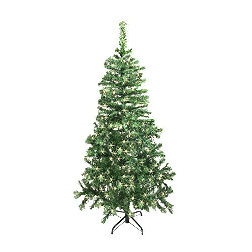 5 Ft Christmas Tree With Led Lights in US - 9