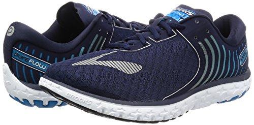 Mthyle 6 Brooks Argent peacoat De Hommes Pour Pureflow Chaussures Course Bleu cIxgHfzyqa