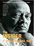Front cover for the book The Insider by P. V. Narasimha Rao