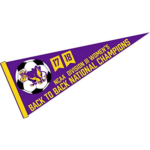 (Williams College Ephs 2018 Womens D3 Soccer Champions Pennant)