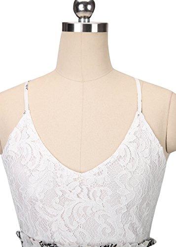 Frauen Ärmelloses, strapazierfestes Hosenträgerrock Backless Sexy Langes Kleid Schwarz S