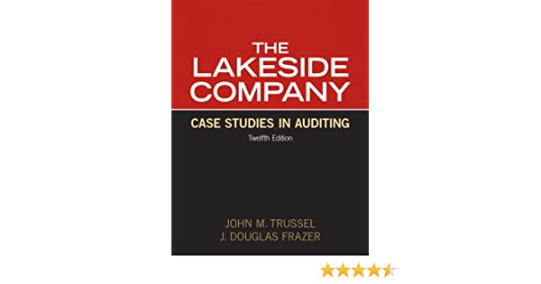 lakeside company case studies in auditing ebook