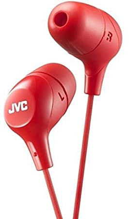 Jvc Hafx38w Marshmallow Earphones White JVCKENWOOD USA Corporation Accessory Electronics Home Audio & Theater