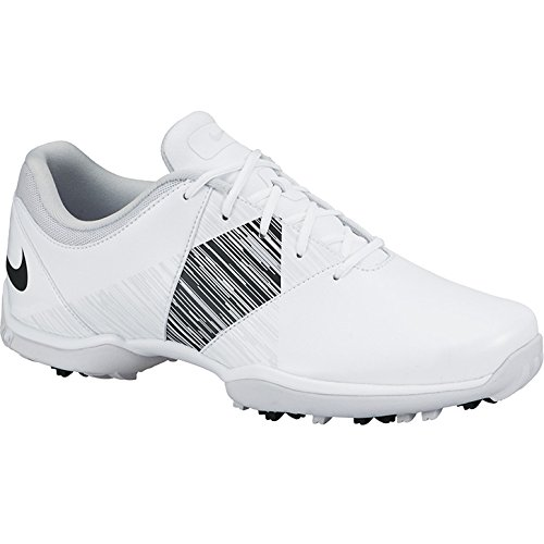 Nike Womens Delight V Golf Shoes (Medium) (7 M US, White/Black/Pure Platinum) by Nike