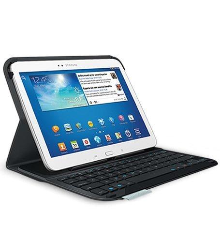 Logitech Ultrathin Keyboard Folio for 10.1-Inch Samsung Galaxy Tab 3 (Certified - Case Keyboard Tablet 3 Galaxy