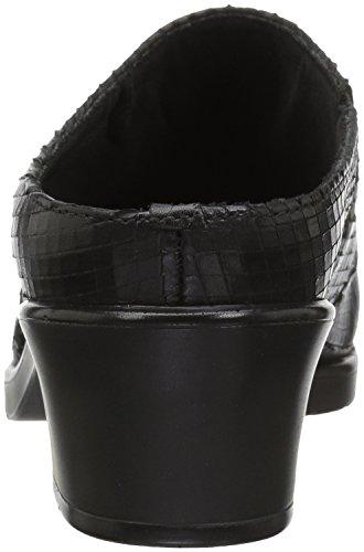 Gående Vaggor Kvinna Caden Täppa Svart Läder