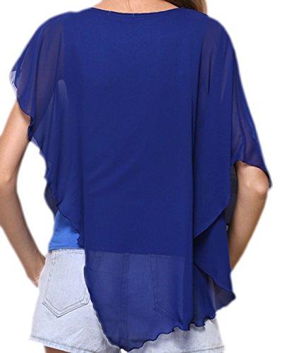 Vian Lundgaard - Camisas - Semitransparente - para mujer Azul