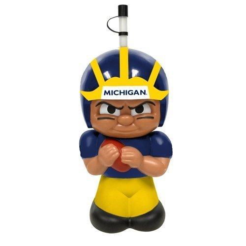 TeenyMates NCAA Football Big Sip Michigan Wolverines Water Bottle