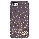 OtterBox SYMMETRY SERIES - Carcasa para iPhone 8 y iPhone 7 (no incluida), color negro, Empaque de fábrica, CONFETTI (PURPLE/CONFETTI GRAPHIC)