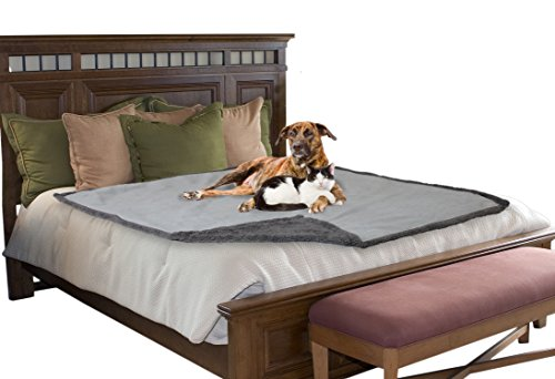 Twin Bed Sideline Comforter - Waterproof Dog Blanket,Sofa Couch Covers Furniture Protector for Large Dogs Cats Puppy,Pet Cushion Mat for Bed Car Seat By Pawsse 80