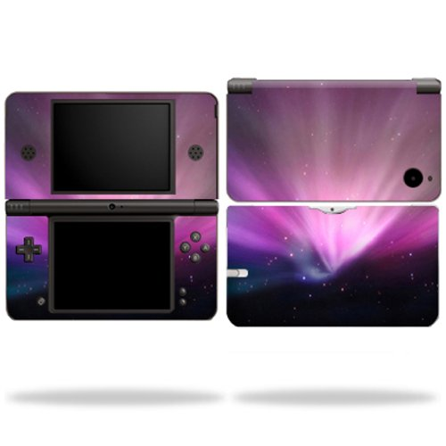 MightySkins Protective Vinyl Skin Decal Cover for Nintendo DSi XL wrap sticker skins Spaced - Nintendo Blue Navy Ds