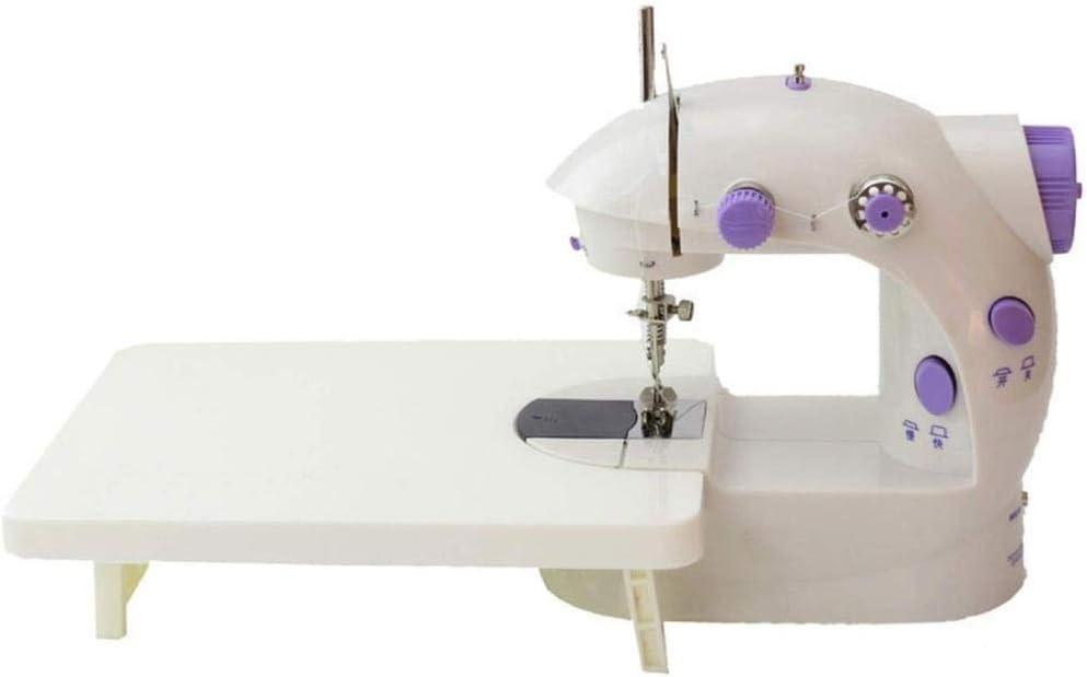 LYTLD Máquina de Coser portátil, máquina de Coser portátil y Largo artesanales Partes de la Mesa de Vestir de DIY ...