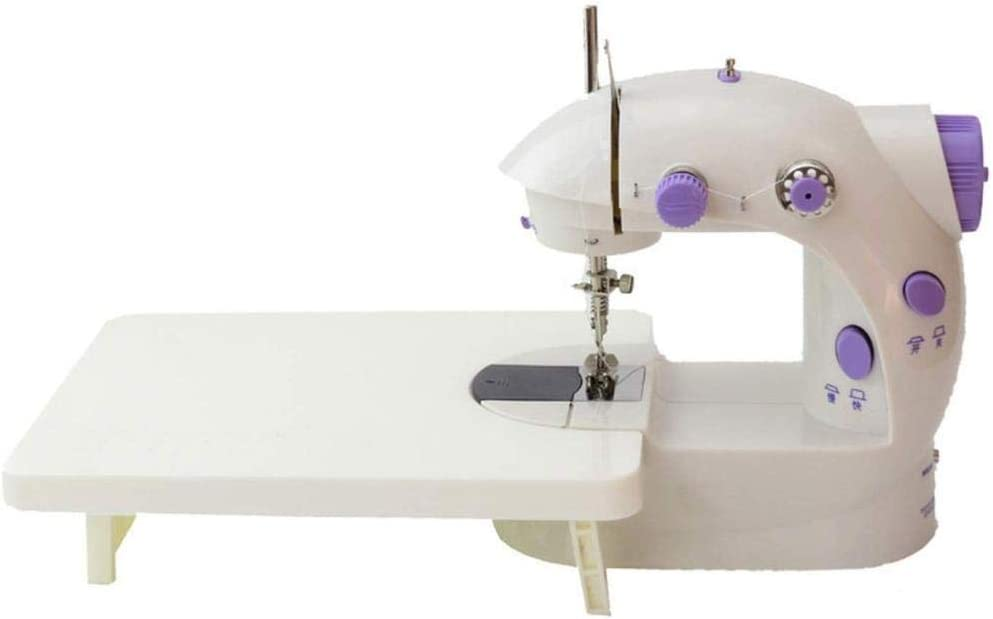 LYTLD Máquina de Coser portátil, máquina de Coser portátil y Largo artesanales Partes de la Mesa de Vestir de DIY Piezas de la máquina de Coser máquina de casa ...