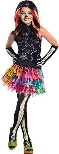 Monster High Costumes For Boys (Monster High Skelita Calaveras Costume, Medium)