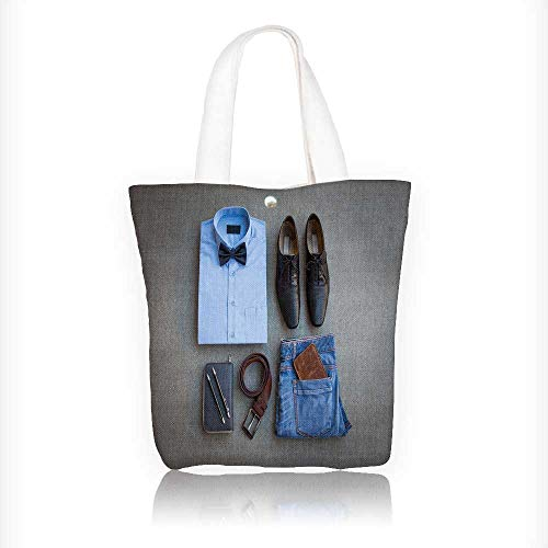 Women's Canvas Tote Bag, men s casual outfits with blue jean