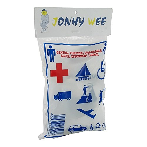 JONHY WEE Urinal Beutel 3 Stück
