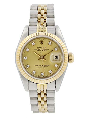 - Rolex Datejust Automatic-self-Wind Female Watch 69173 (Certified Pre-Owned)