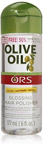 Organic Root Stimulator Anti-Frizz Olive Oil Glossing Polisher, 6 oz