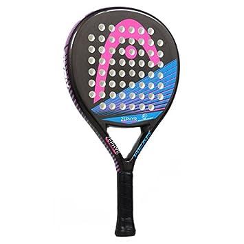 Head Zephyr Junior CB - Pala de pádel para niña, color negro/rosa/azul: Amazon.es: Deportes y aire libre