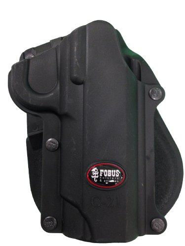 Fobus Roto Holster RH Paddle C21RP 1911 Style-All Models / S&W 945 (Roto Rh Holsters Paddle)