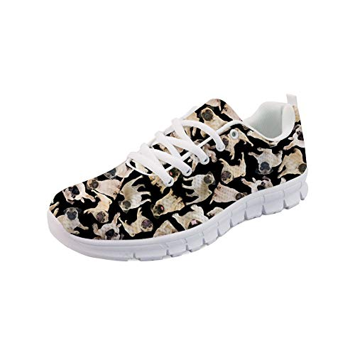 Lace Women 1 Fashion Printing Color Sport Up Galaxy Sneaker Running Showudesigns Shoes wxI5HPqx6