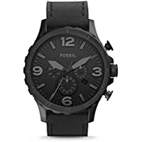 Fossil JR1354 Men's Nate Stainless Steel Chronograph Watch