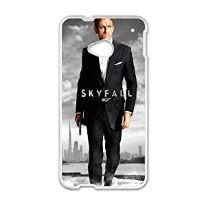 HTC One M7 Cell Phone Case White Skyfall LPC Wholesale Phone Covers