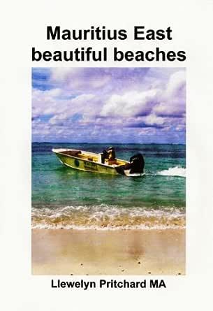Mauritius East Beautiful Beaches Souvenir Kokoelma Varivalokuvia
