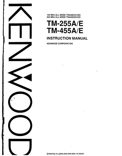 Kenwood Installation Manual