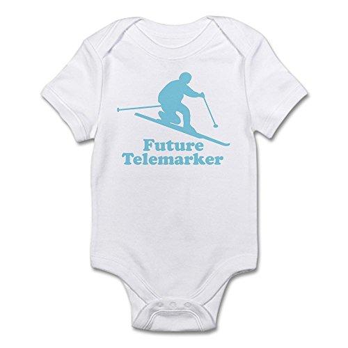 CafePress Future Telemarker Infant Bodysuit Cute Infant Bodysuit Baby Romper