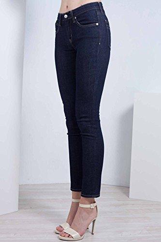 Superskinny Calvin 25 Klein Scuro Ckj080 Lavaggio Taglia Donna Jeans A qwUHtwf