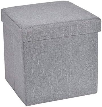 13.8 inches Storage Ottoman Cube