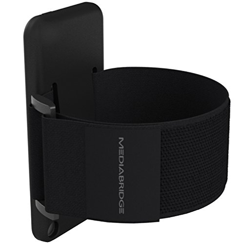 Mediabridge Armband for iPod Touch - 5th / 6th Generation ( Black ) - Model AB1 (Part# AB1-IPT5-BLACK )
