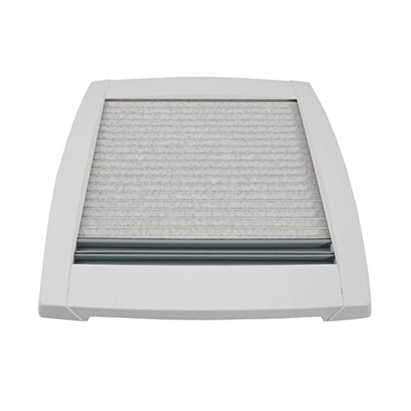41 HKvtf4pL MPK VisionStar M pro getönte Klarglas Dachluke Dachfenster Dachhaube 40 x 40 cm in signalweiß