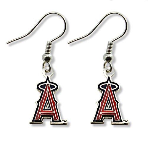 MLB Los Angeles Angels Logo Dangler Earrings