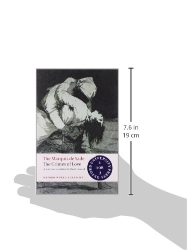 The Crimes of Love: Heroic and tragic Tales, Preceded by an Essay on Novels (Oxford Worlds Classics)