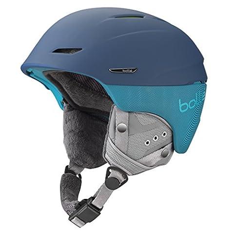 Bolle Millennium Helmets, Soft Blue/Green, 58-61 cm - Casco Blu