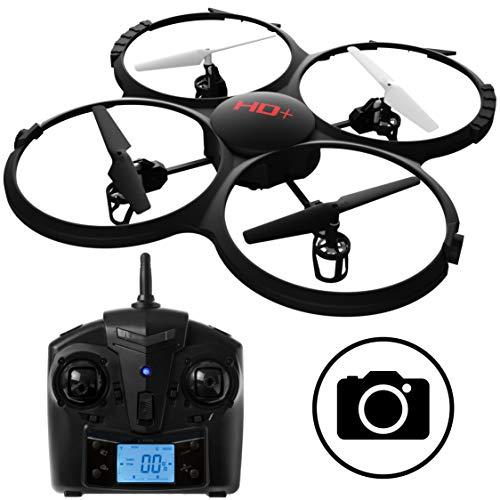 UDI RC U818A Discovery RC Drone with Camera - 720p Quadcopter HD Camera Drone w/ SD Card