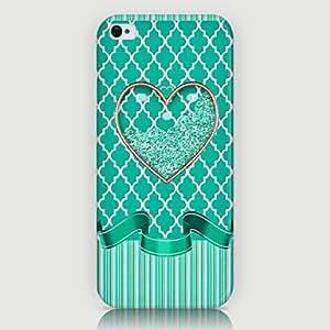 GX ahuecar patrón amor de nuevo caso para el iPhone5 / 5s