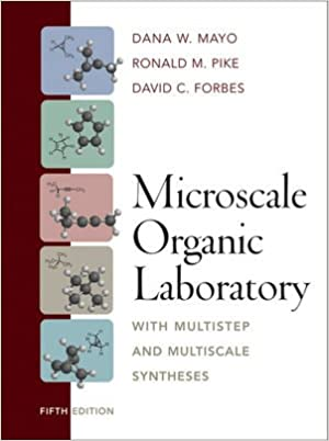 Microscale organic laboratory with multistep and multiscale microscale organic laboratory with multistep and multiscale syntheses 5th edition fandeluxe Gallery