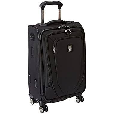 Travelpro Crew 10 21 Inch Expandable Spinner Suiter, Black, One Size