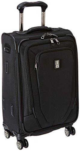 (Travelpro Crew 10 21 Inch Expandable Spinner Suiter, Black, One)