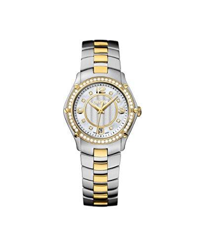 Ebel Watch Sport 1216184 Two Tone 56-diamond 18K Women
