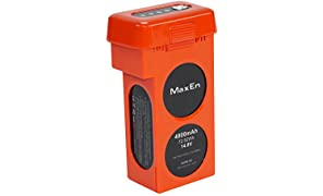 Autel Robotics Battery (Li-Po with 4900mAh, 14.8V) for use with X-STAR and X-STAR Premium Drones, Orange