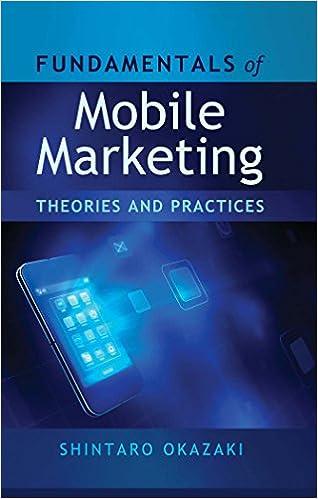 Amazon ilmainen eBook lataukset ipad Fundamentals of Mobile Marketing: Theories and practices 1433115611 PDF FB2 iBook