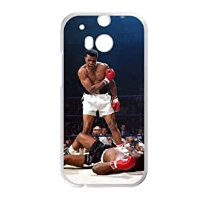HTC One M8 Cell Phone Case White Muhammad Ali as a gift J2315109